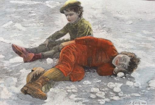 Albert Aublet, Sur le Sable
