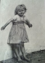 Girl by a wall, 1885