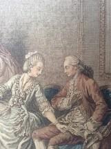 Close up L'occupation, after Freudenberg 1774