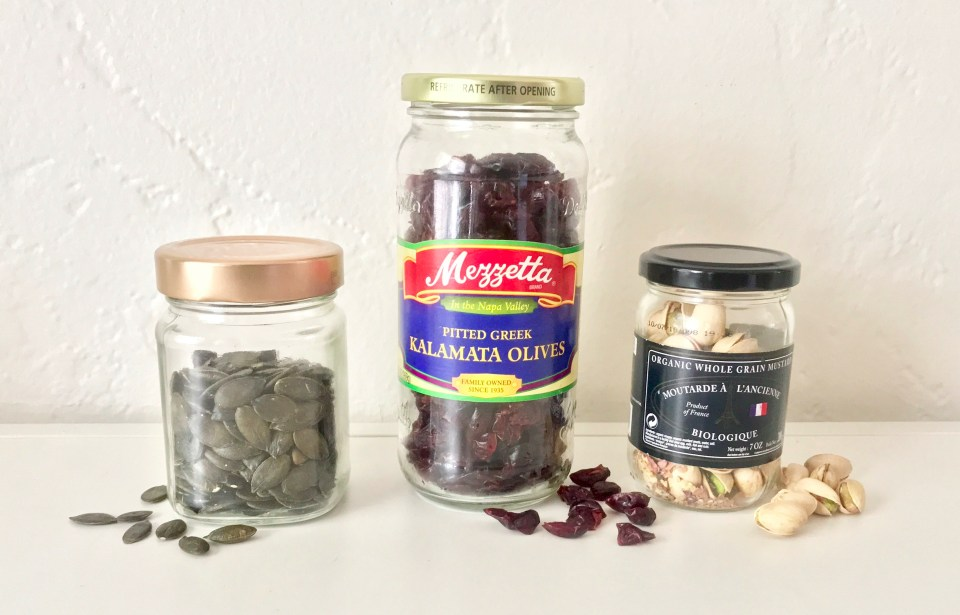 Jars for pantry storage
