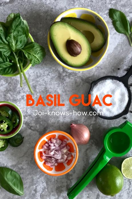 Basil Guac