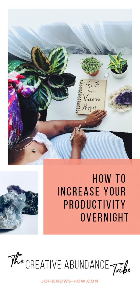 How to Increase Your Productivity Overnight