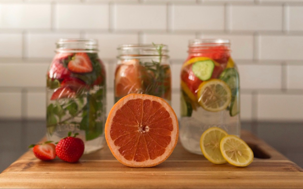 3 Delicious Fruit & Herb Water Infusions | Joi-Knows-How.com