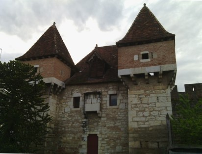The building at the beginning of the tour - Cahors