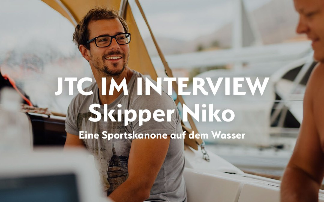 JTC-Skipper im Interview -Niko Single