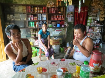 The friendly guys in the village shop