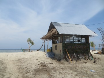 The smallest beach bar