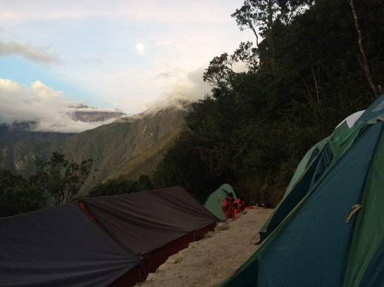 Our final campsite