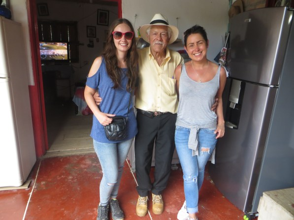 Carrie and Angela with Don Elias