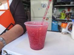 Local fruit shake