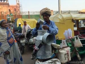 Chai tea seller