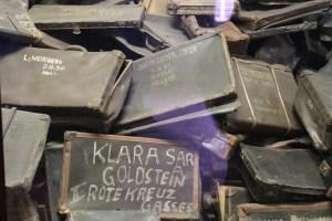 Auschwitz suitcases