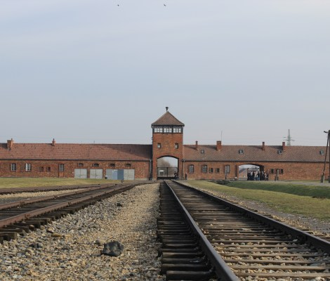 Auschwitz gate