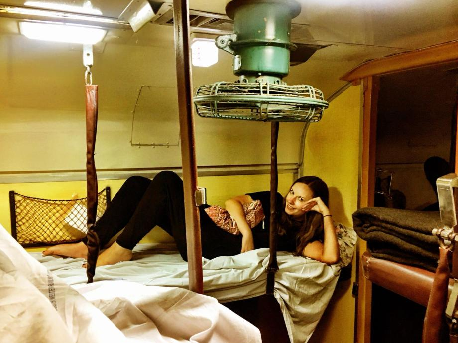 India sleeper train