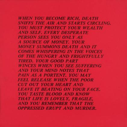 [no title] 1979-82 Jenny Holzer born 1950 Purchased 1983 http://www.tate.org.uk/art/work/P77412