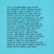 [no title] 1979-82 Jenny Holzer born 1950 Purchased 1983 http://www.tate.org.uk/art/work/P77398