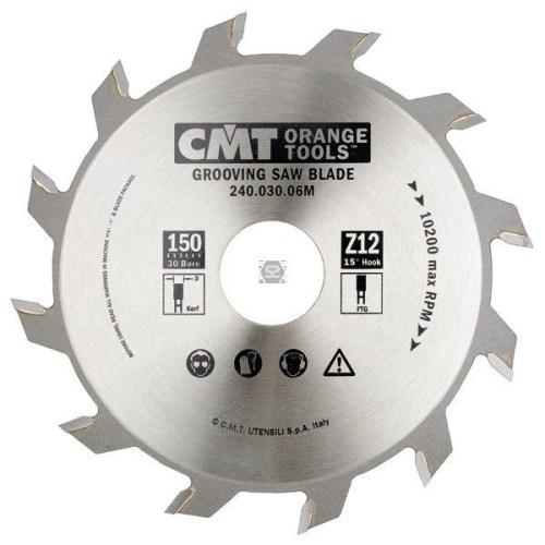 SECOND HAND CMT 240 GROOVING SAWBLADE D150 D30 B4 Z12