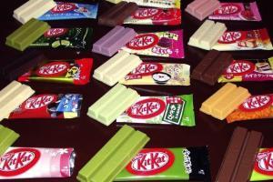 В Японии более 200 вкусов Kit Kat