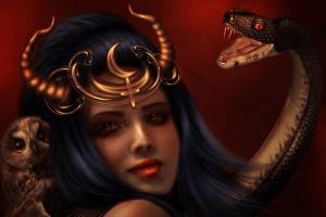 Демоница Лилит - воплощение зла или отвергнутая и несчастная дочь Бога?