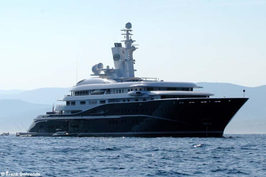 Самые дорогие яхты. У кого длиннее?