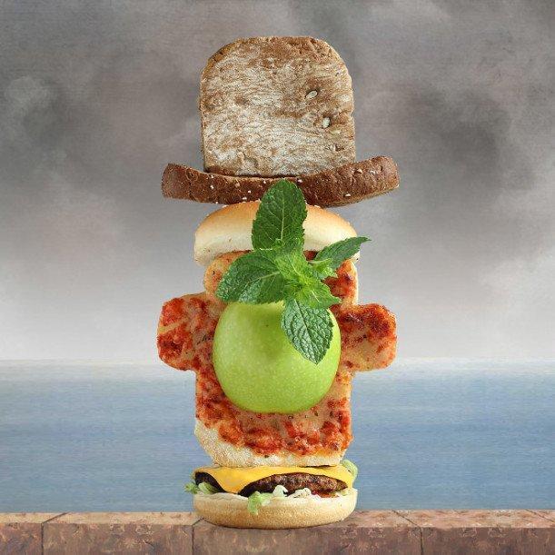20 бутербродов - произведений искусства