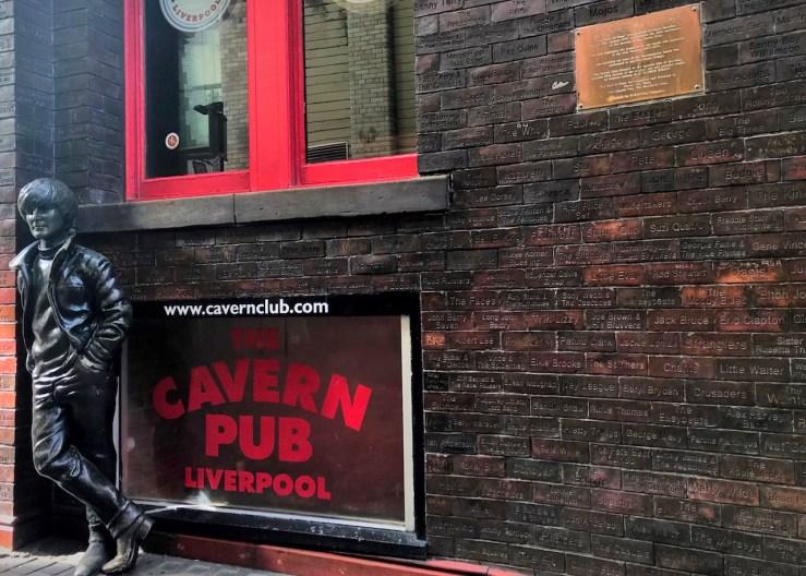 利物浦Liverpool:洞穴俱樂部(The Cavern Club)