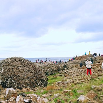 "Giants Causeway - Ireland Itinerary: The Song of Ice and Fire ""Game of Thrones"" filming scenes (from Dublin)."