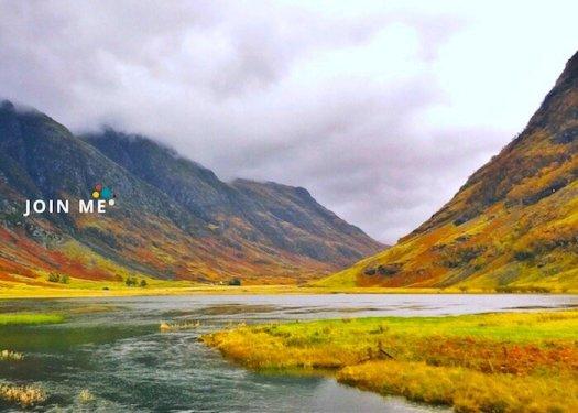 蘇格蘭高地 Scottish Highlands:格倫科峽谷(Glencoe)秋季