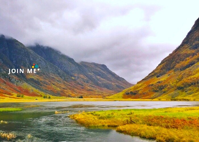 蘇格蘭高地 Scottish Highlands:格倫科峽谷(Glencoe)秋季