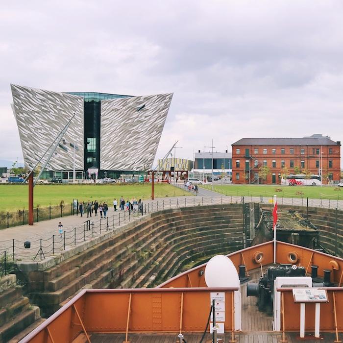 行程:貝爾法斯特鐵達尼克 泰坦尼克 博物館(Belfast Titanic)