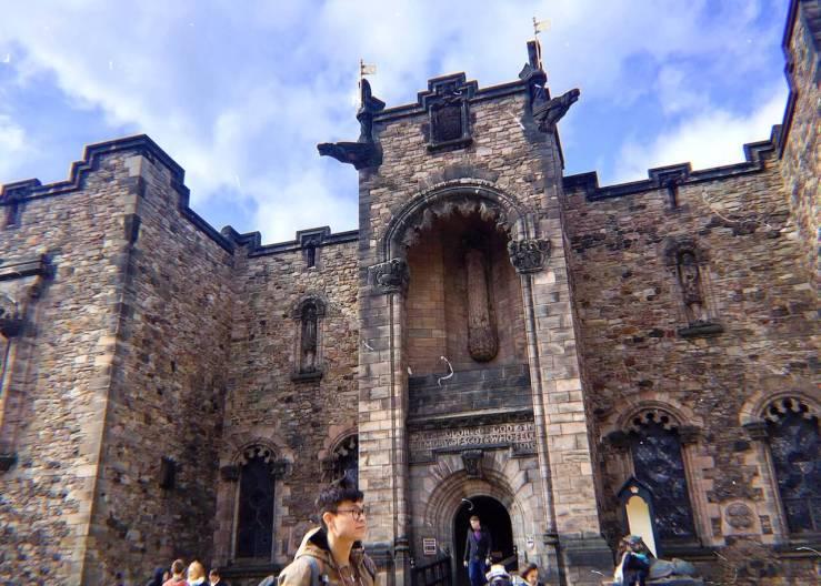 愛丁堡Edinburgh:愛丁堡城堡(Edinburgh Castle)