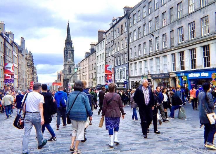 愛丁堡Edinburgh:皇家一英里大道