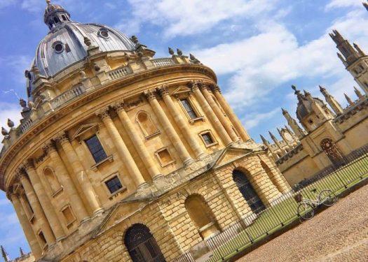 牛津Oxford:拉德克利夫图书馆(Radcliffe Camera)