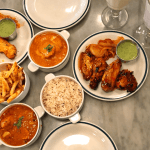 British Indian cuisine
