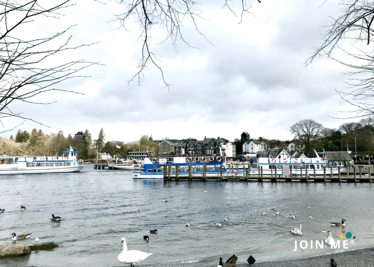 湖區 Lake District:鮑內斯 Bowness on Windermere