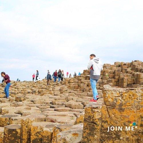 行程:北愛爾蘭 Northern Ireland:巨人堤道及堤道海岸(Giant's Causeway and Causeway Coast)