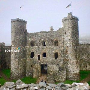 行程:威尔斯哈莱克城堡Harlech Castle,Wales