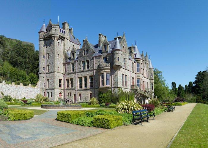 贝尔法斯特城堡,北爱尔兰,英国