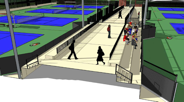 Eve Zimmerman Tennis Center
