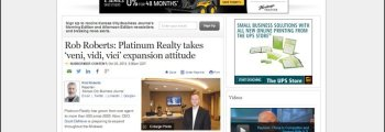Kansas City Business Journal – Featured Article