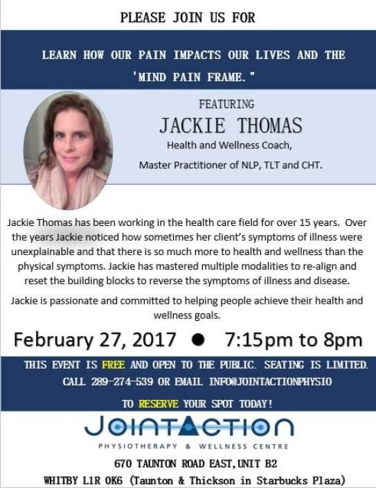 Jackie T talk