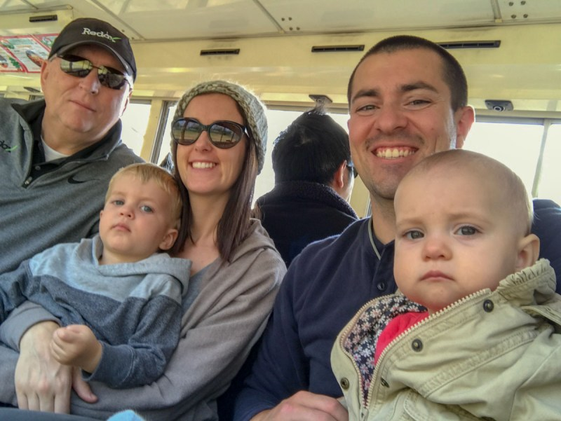 Safari Land Family bus ride