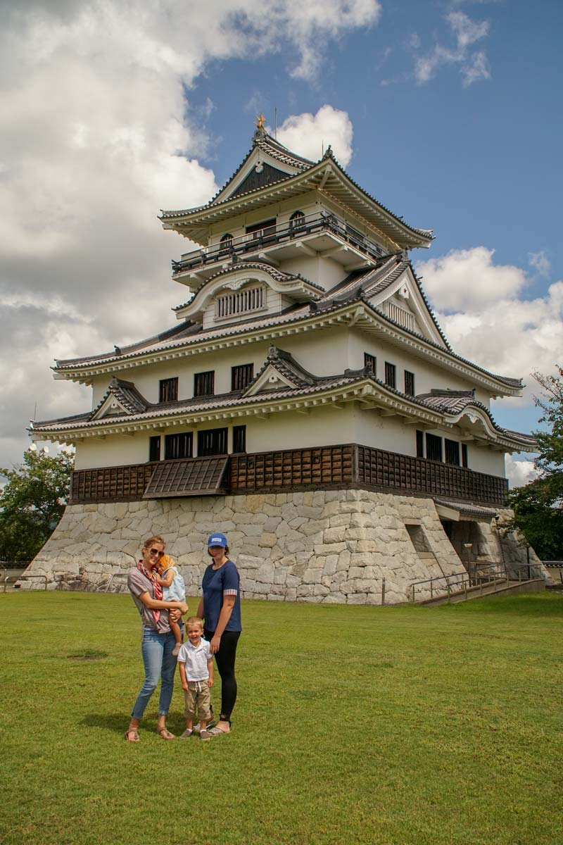 Family at a Kawahara Castle