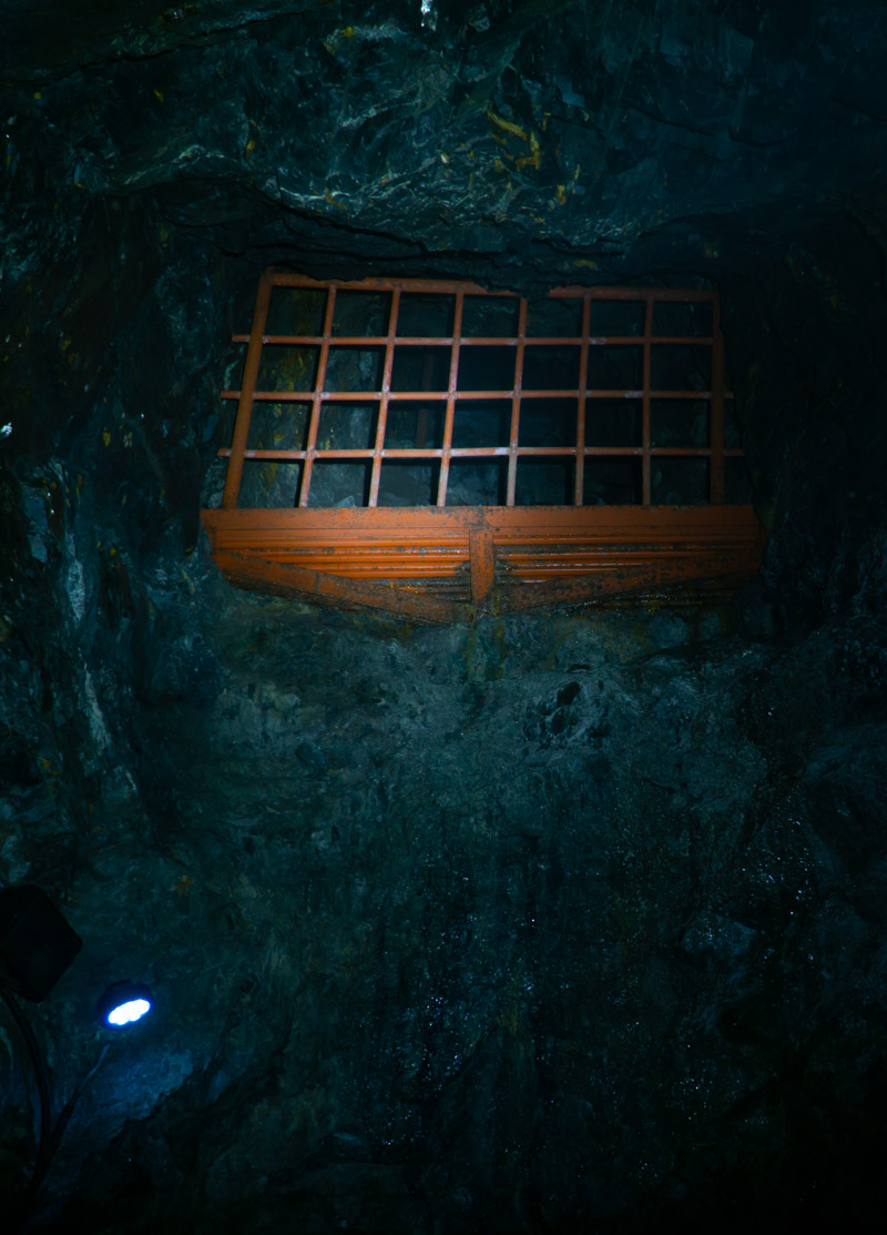 Mu Valley mine shaft