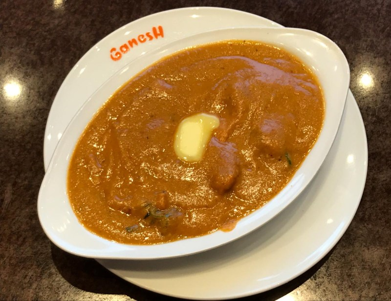 Indian Food Iwakuni- Ganesh Deluxe butter chicken