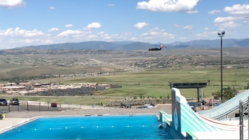 Park City Olympic Park Ski Jumper