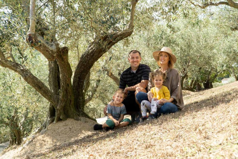 Shodoshima Olive Groves family picture
