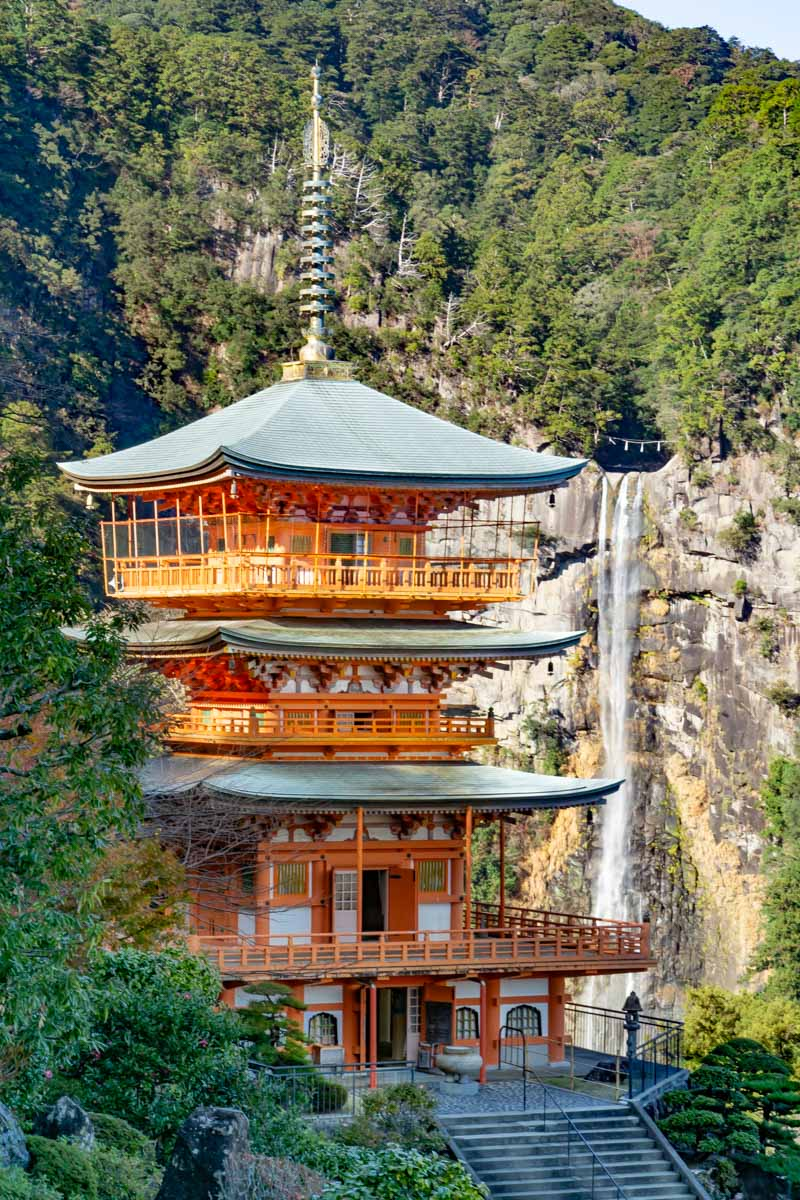 Nachi Falls beautiful view