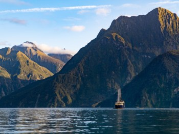 Milford Sound ship