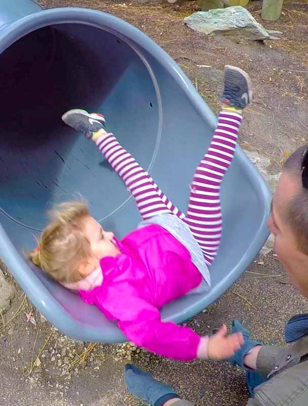 Queenstown-girl-on-slide